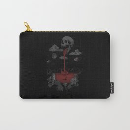 alien and skull Carry-All Pouch