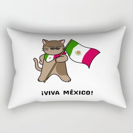 Viva Mexico Rectangular Pillow