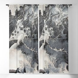 abstract acrylic painting 27 Blackout Curtain