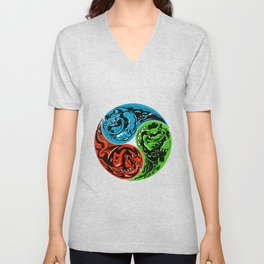 POKéMON STARTER: THREE ELEMENTS Unisex V-Neck