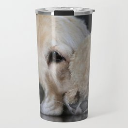 Golden Retriever with Best Friend Travel Mug