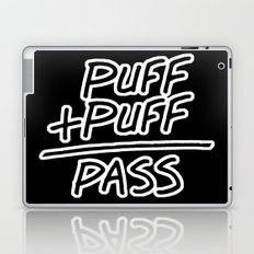 Puff + Puff = Pass Laptop & iPad Skin