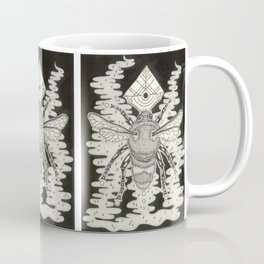 Bee Symbol Coffee Mug