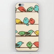 Hanging Out (multi-colored option) iPhone Skin
