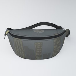 New York City Moon & Spider Man Fanny Pack