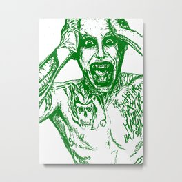 The Joker. Suicide Squad (Jared Leto) Metal Print