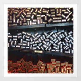 Wand Boxes Art Print