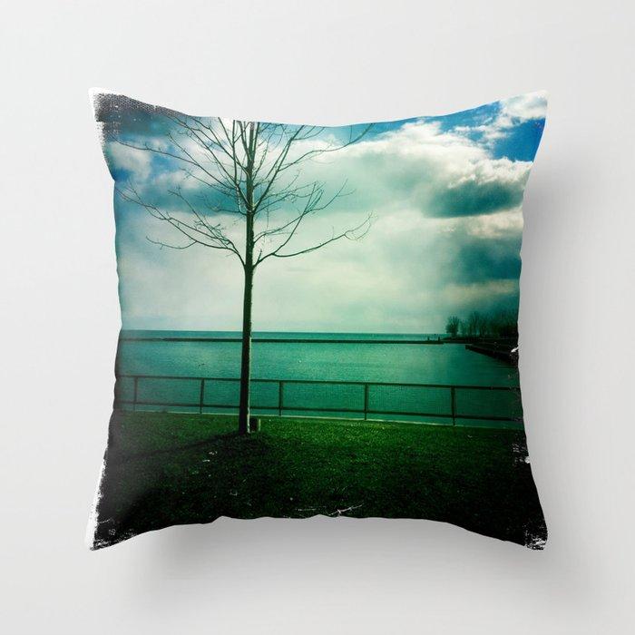Coronation park Throw Pillow