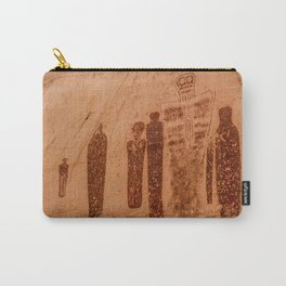 Great Gallery Holy Ghost Pictograph - Canyonlands National Park Carry-All Pouch