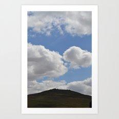 Dartmoor Tor Art Print