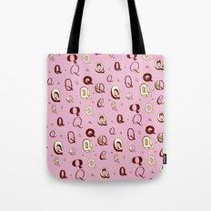 Letter Patterns, Part Q Tote Bag