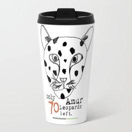Save the Amur Leopard Travel Mug