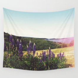 Lupine Flowers of the Maritimes Wall Tapestry