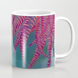 #Agave #psychedelic colors pop-art Sci Fi #Jungle Coffee Mug