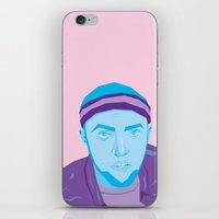 mac iPhone & iPod Skins featuring Mac Mizzle by Gustavo Barroso