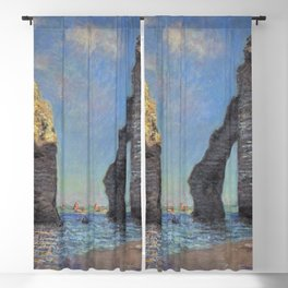Claude Monet - The Cliffs at Etretat Blackout Curtain
