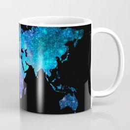 Space World map Coffee Mug