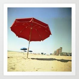 Sunny Beach Art Print