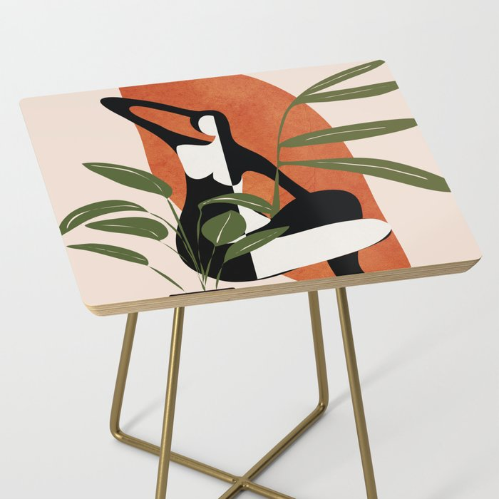 Abstract Female Figure 20 Side Table
