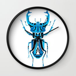 Stag Beetle _ Psychedelic bug 3.2 _ Besouro Independente Wall Clock