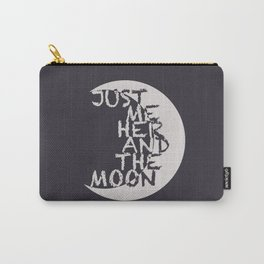 Just Me, Her and the Moon Carry-All Pouch