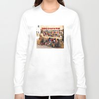 morocco Long Sleeve T-shirts featuring Crochet, Morocco by Mr & Mrs Quirynen