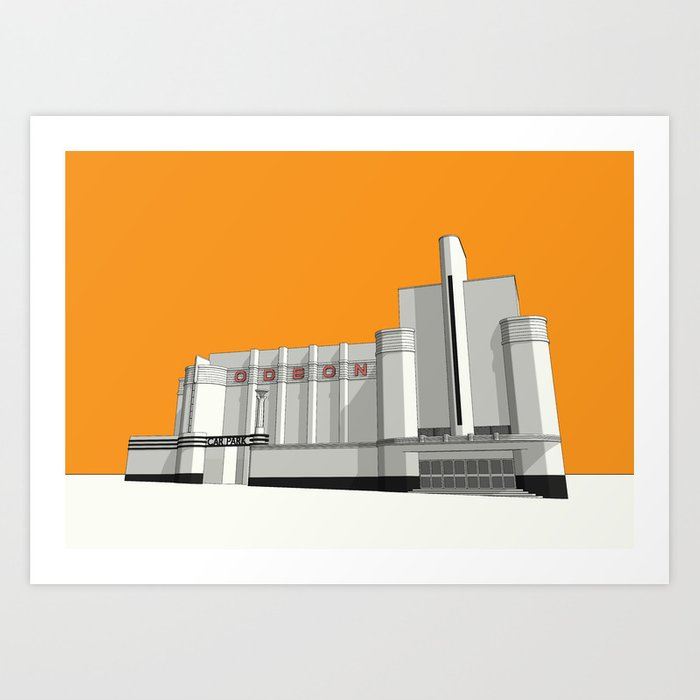 ODEON Woolwich Art Print