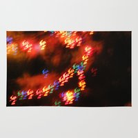 holiday Area & Throw Rugs featuring Holiday by Ana Katchen