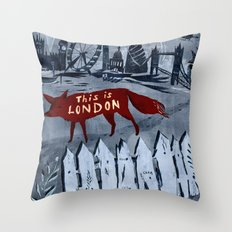 Locals/Only - London Throw Pillow