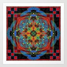 Mandala #9 Art Print