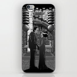The Monster's bride. iPhone Skin