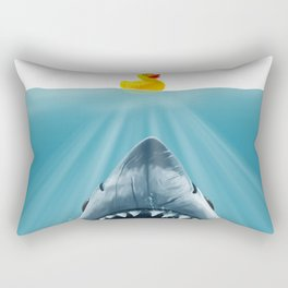 Save Ducky Rectangular Pillow