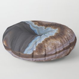 Mocha Agate Floor Pillow