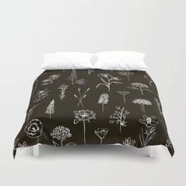 Patagonian wildflowers Duvet Cover