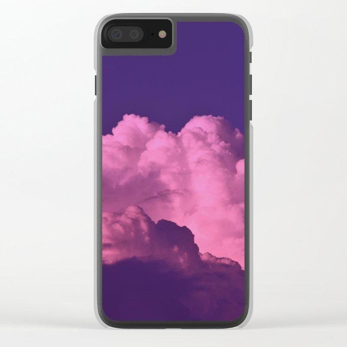 Cloud of Dreams  II Clear iPhone Case