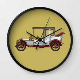 Antique car 3 Wall Clock