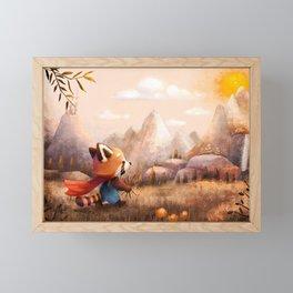 set off Framed Mini Art Print