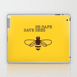 Be safe - save bees Laptop & iPad Skin
