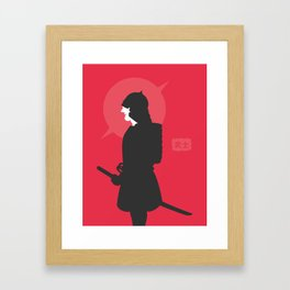 Second Bushi Framed Art Print