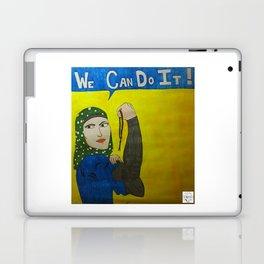 Muslim Rosie the Riveter Laptop & iPad Skin