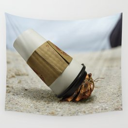 Hermit Coffee Wall Tapestry