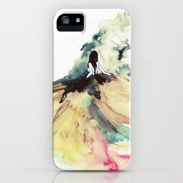 Rainbow dress iPhone Case