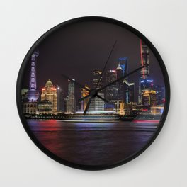 The Bund Wall Clock