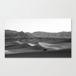 Mesquite Flat Sand Dunes Canvas Print
