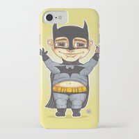 bats iPhone & iPod Cases featuring Bats by Shiny Superhero