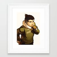 returns Framed Art Prints featuring Bolin Returns by Caleb Thomas