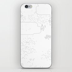 land of 15 towns and a cemetary iPhone & iPod Skin