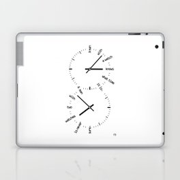 Two Watches Laptop & iPad Skin