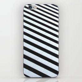 Black&white iPhone Skin