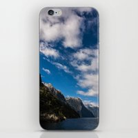 new zealand iPhone & iPod Skins featuring New Zealand by Michelle McConnell